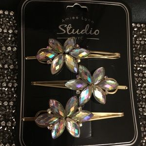 Bridle Crystal Hair Pins